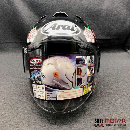 (H/OF518S/RS) MHR HELMET OF518 ROSE SIZE L